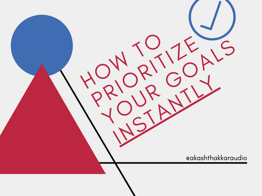 The FFF Framework: How to Prioritize your Goals Instantly