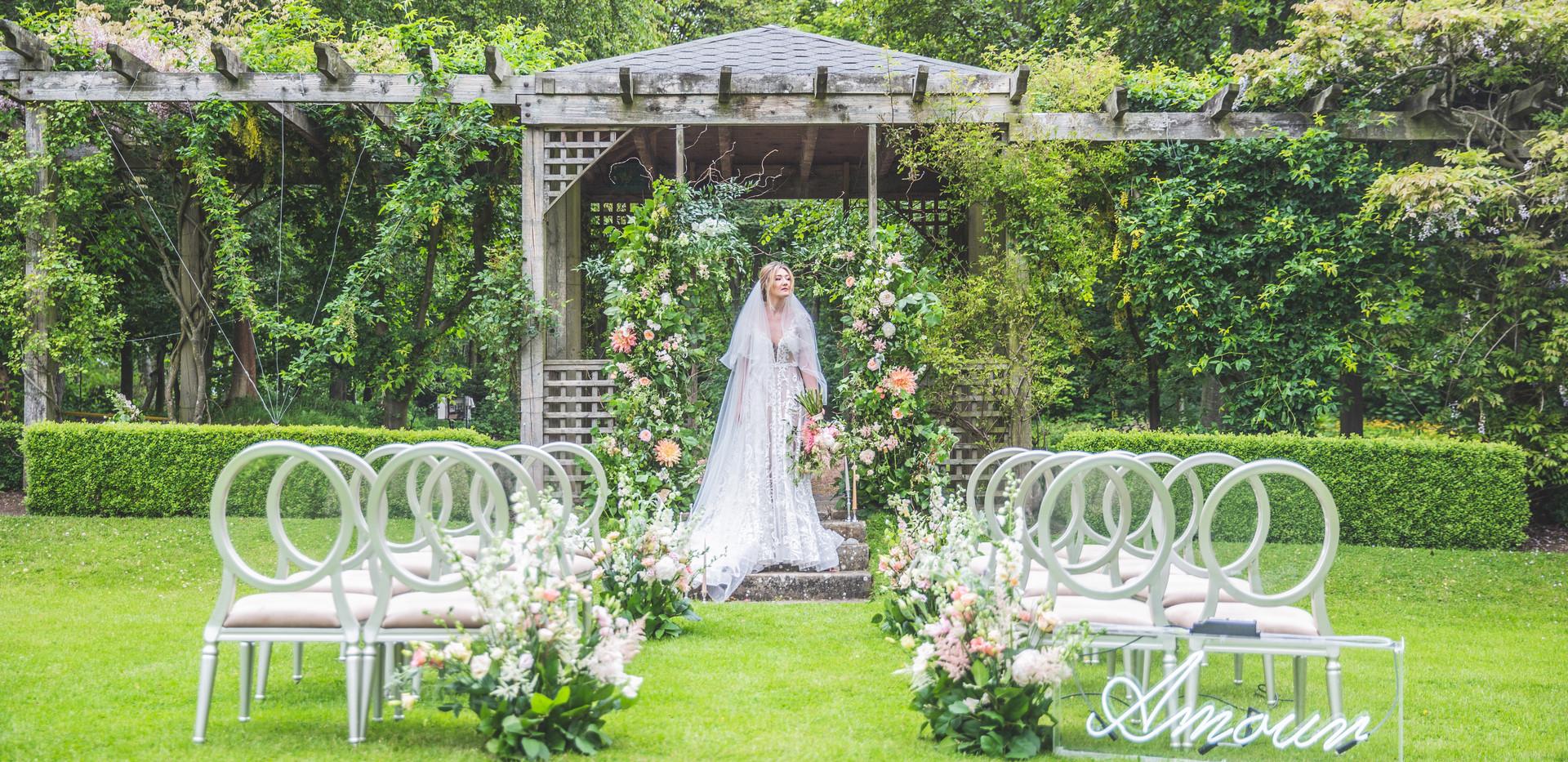 Matfen Hall Wedding Photoshoot
