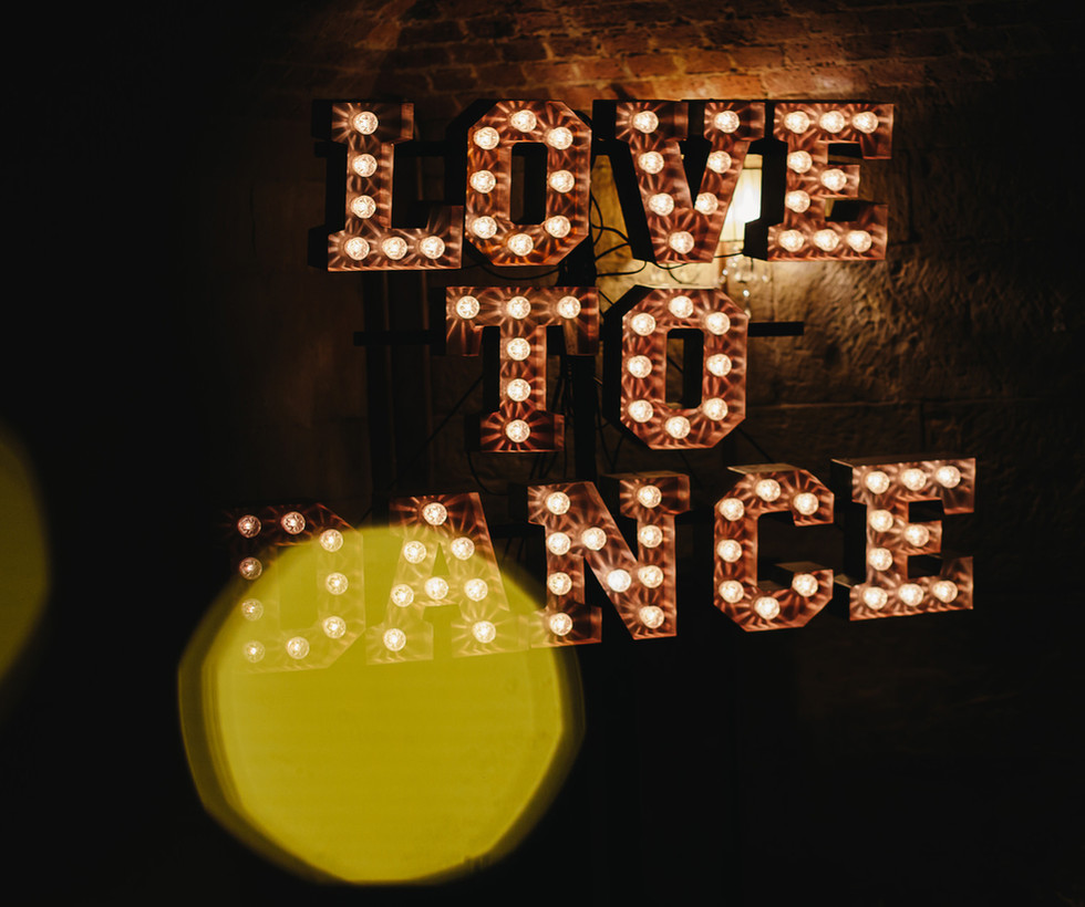 Mini Coco - Light up love to dance letters