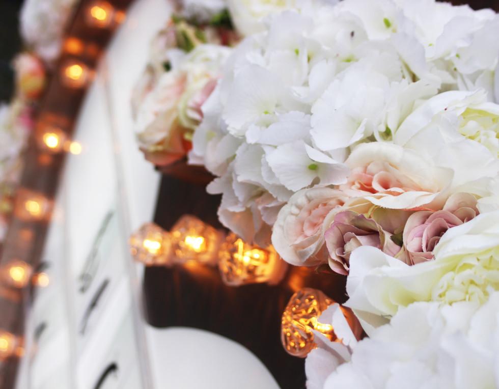 Floral Heart details