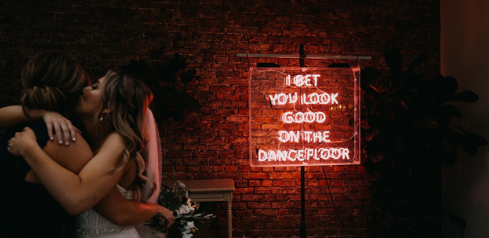 I bet You Look Good On The Dancefloor Neon