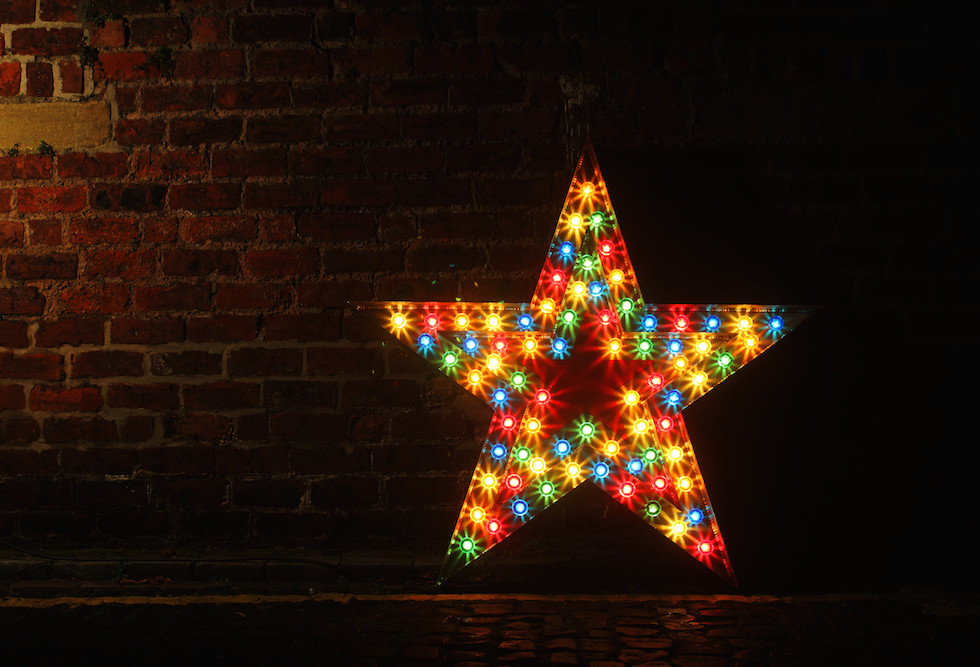 Light Up Star - 4ft