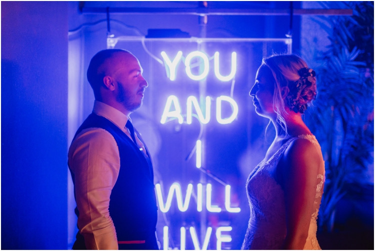 You and I will live forever neon sign