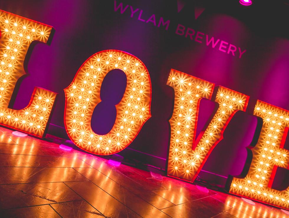 Carnival LOVE letters