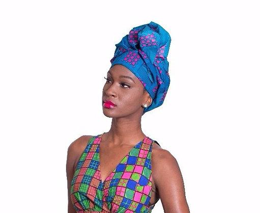 African Print Head wrap - BF