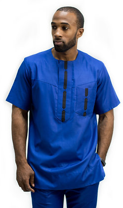 Uche Modern-Traditional Fitted 2-piece set.
