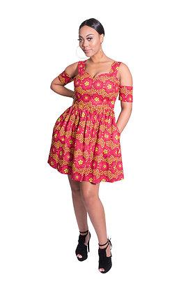 Morayo Off-shoulder Dress