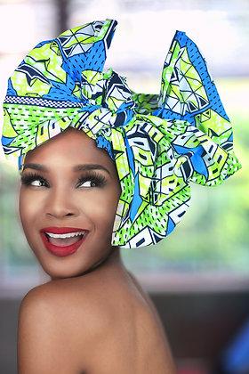African Print Head Wrap  - MWBB01