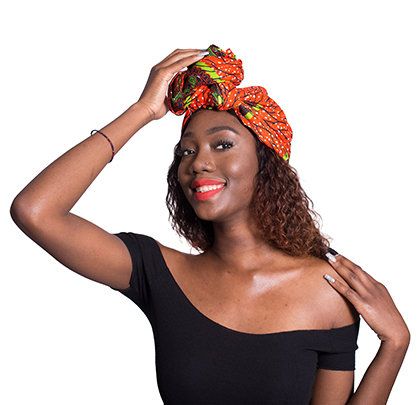 African Print Head Wrap - OGB