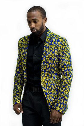 Kunmi Men's Ankara Blazer