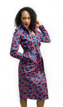 Jadesola Trench Dress