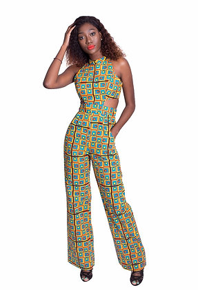 Olawunmi Cut-out Jumpsuit