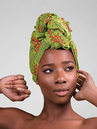 African Print Head Wrap - GO