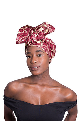 African Print Head Wrap - WC