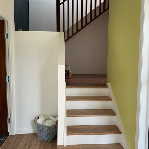 Entryway to new extension