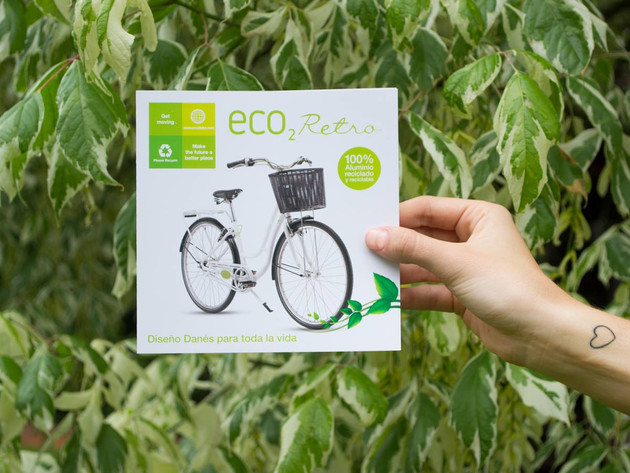 folleto desplegable / eco2bike