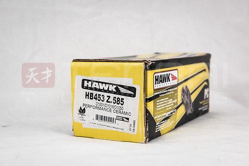 Hawk Ceramic Street Front Brake Pads 03-15 Evo / 04-17 Sti