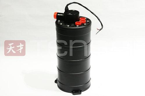 Protec Fuel Surge tank, 240mm, Cobra FM fitting kit, adaptors and Filter