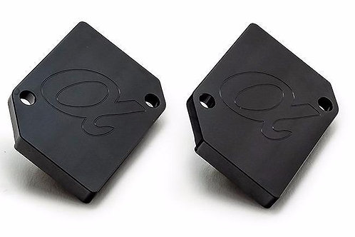 Alpha Performance R35 GT-R MAF Block off plates (set of two)
