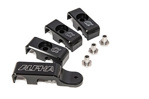 Alpha Performance R35 GT-R Fuel Line Clamp System