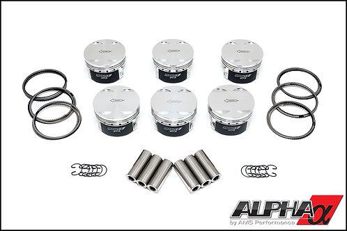 """Alpha Spec VR38 98mm Bore Stroker Pistons, 3.717"""" Stroke"""