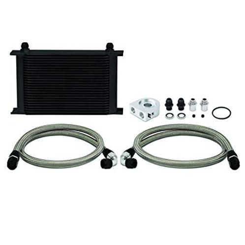 Mishimoto Universal 25 Row Oil Cooler - Black