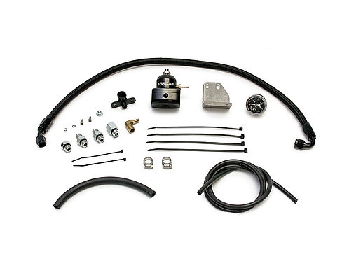 MAP AFPR INSTALL KIT WITH FUELAB REGULATOR | 2003-2007 MITSUBISHI EVO 8/9