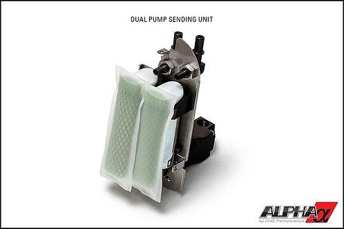 ALPHA Nissan GT-R Omega Fuel System - Dual pumps