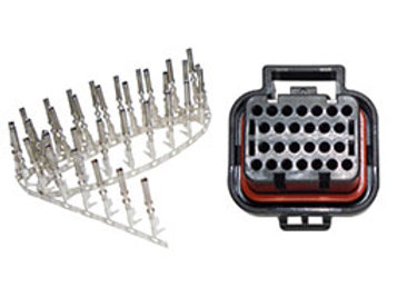 Link Plug Kit D, Housing and 26 terminals for D connector