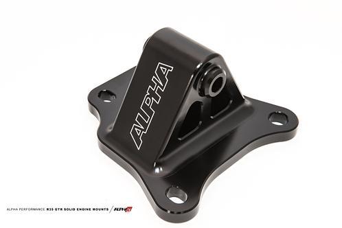 Alpha Performance R35 GT-R Race X Solid Motor Mounts