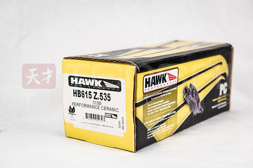 Hawk Ceramic Street Rear Brake Pads EVO X Performance