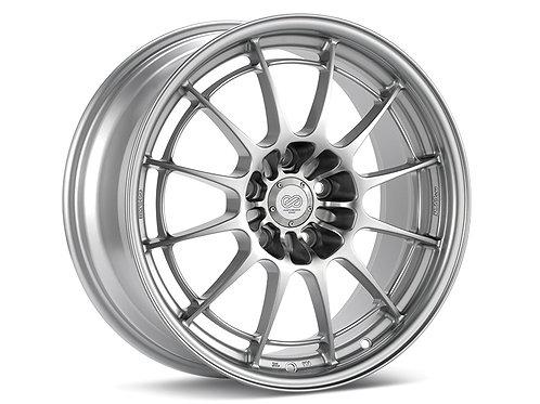 Enkei NT03+M 18x10.5 5x114.3 30mm Inset 72.6mm Bore Silver Wheel