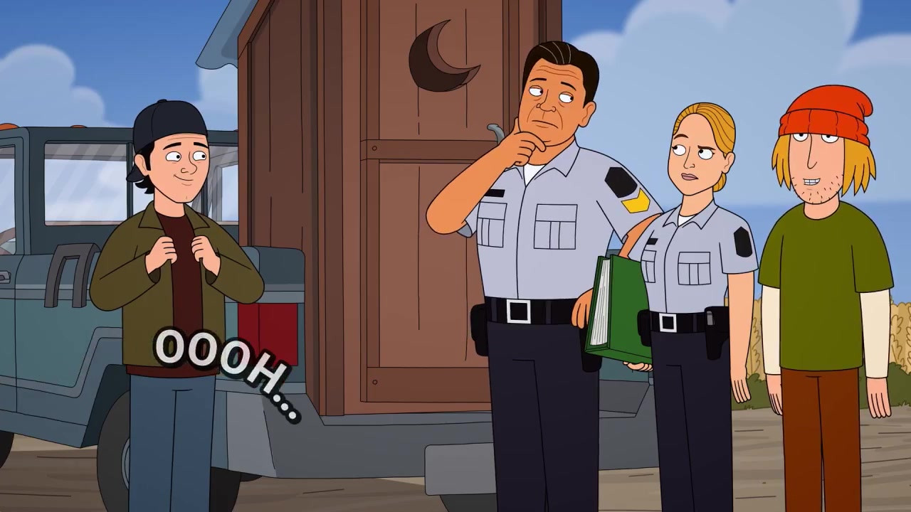 Corner Gas Animated - Hank's Pay-Per-Poo