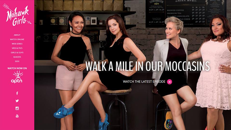 Mohawk Girls - Website
