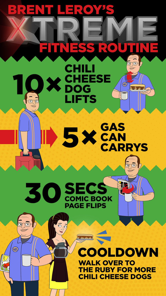 Corner Gas Animated - Fitness Parody
