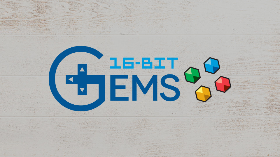 16-Bit Gems Branding
