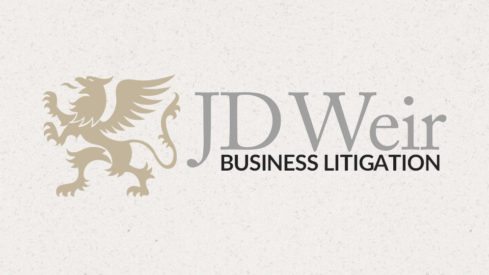 JD Weir Business Litigation Brand