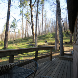 Side Deck & BBQ Area