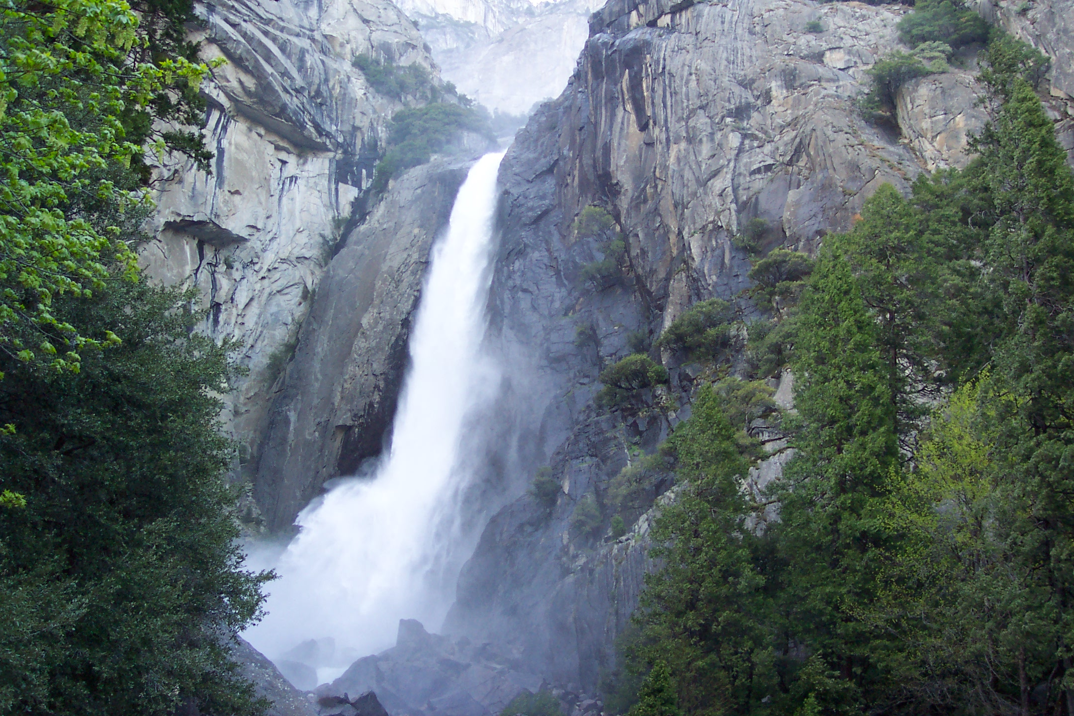 Base of Yosemite Falls