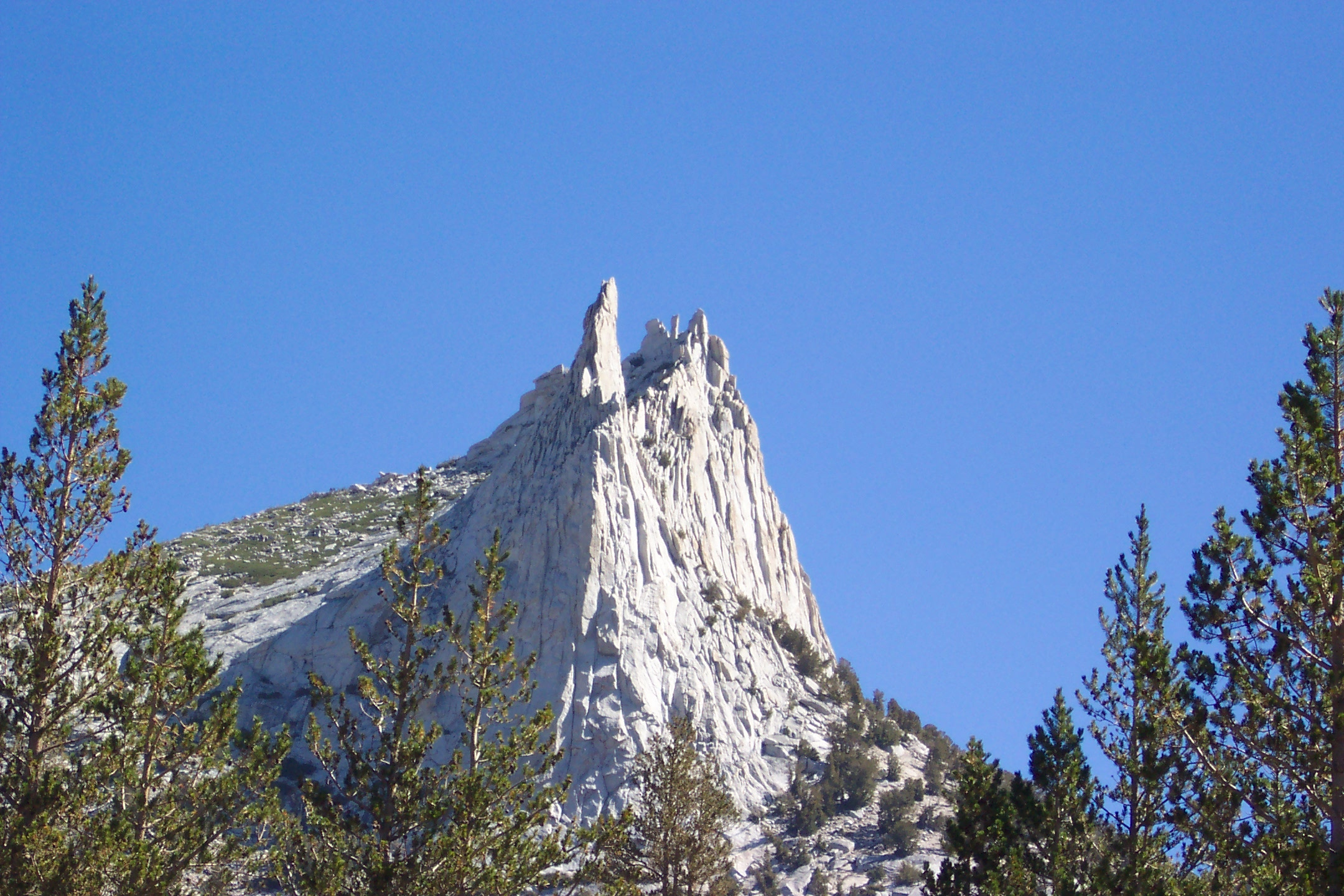 Eichorn Pinnacle on Cathedral Peak