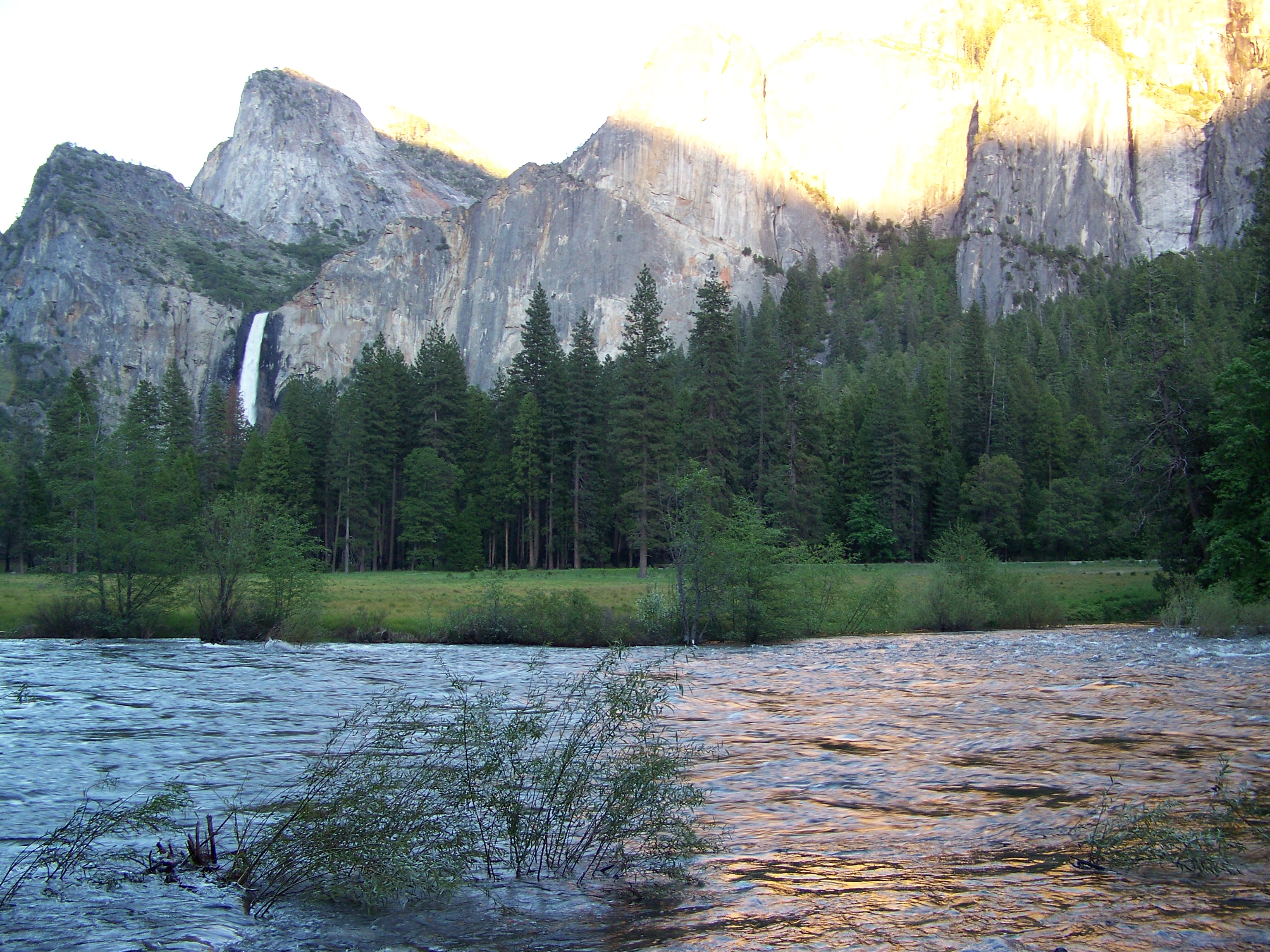 Merced River & Bridalveil Fall