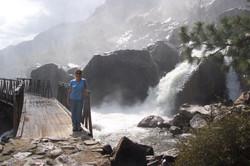 Base of Wapama Falls