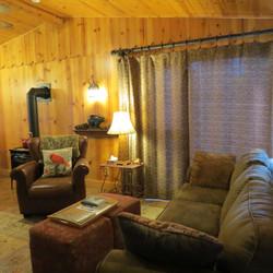 Living Room & Propane Parlor Stove