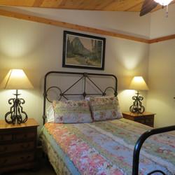 Queen Bed in First Bedroom