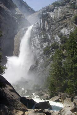 Base of Yosemite Falls