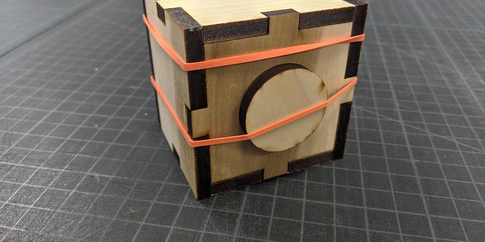 Laser-cut Pinhole Camera