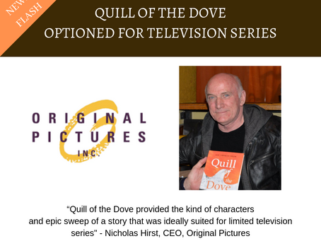 Quill of the Dove Optioned for TV Series