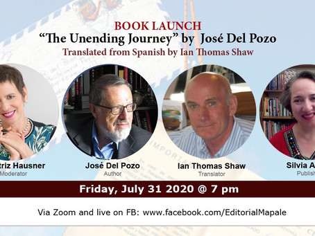 Launching the Translation of The Unending Journey - July 31, 2020