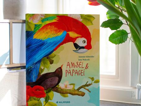 Amsel & Papagei- Buchveröffentlichung