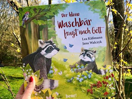 Buchveröffentlichung: Der kleine Waschbär fragt nach Gott